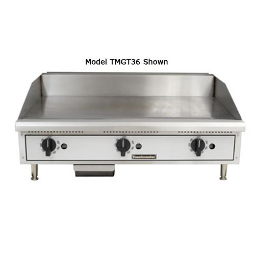 "Pro-Series 24"" Thermostatic Countertop Gas Griddle at Discount Sku TMGT24 TOATMGT24"