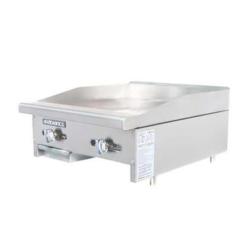 24 Gas Griddle ~ Turbo air tamg radiance in countertop gas