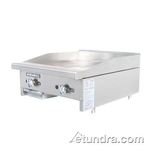 "Radiance 24"" Countertop Gas Griddle at Discount Sku TAMG-24 TURTAMG24"