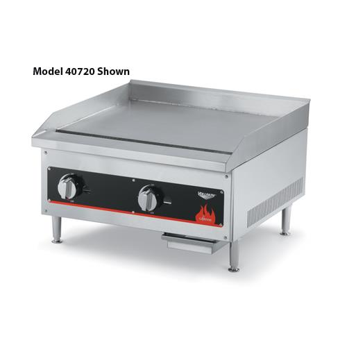 Flat Cooking Griddle ~ Vollrath  cayenne quot gas flat top griddle etundra