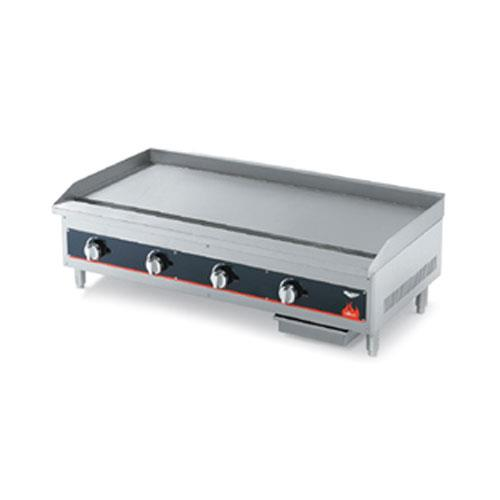 Flat Cooking Griddle ~ Vollrath ggt in heavy duty flat top gas griddle