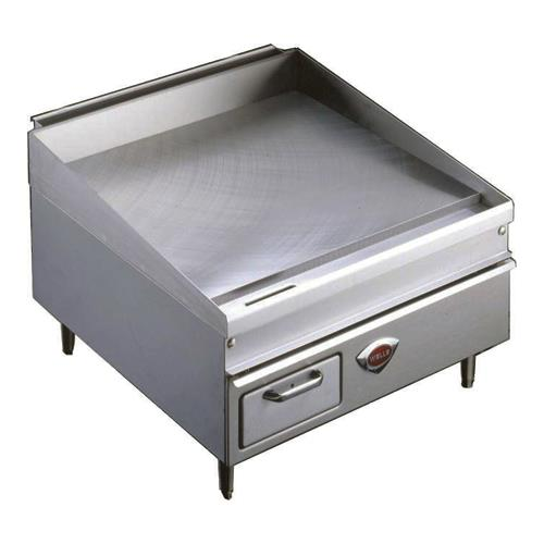 24 Gas Griddle ~ Wells wg g quot thermostatic gas griddle etundra