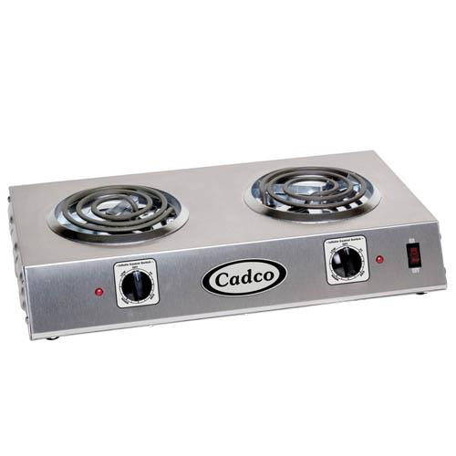 Cadco - CDR-1T - Double Side By Side Electric Hot Plate