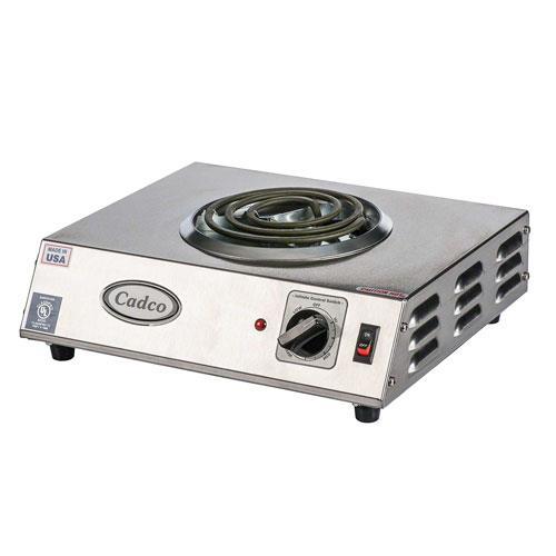 Cadco - CSR-1T - 120V Single Hot Plate
