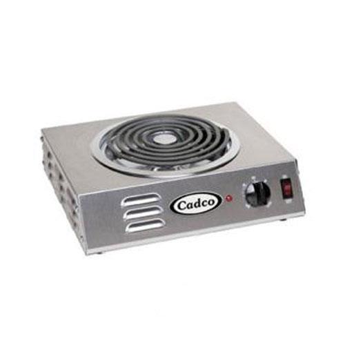 Cadco - CSR-3T - Hi-Power Single Hot Plate - 120V/1,500W