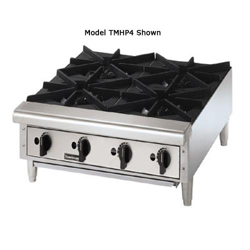 "Pro-Series 24"" Countertop Gas Hot Plate at Discount Sku TMHP4 TOATMHP4"