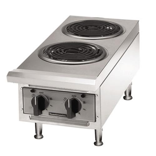 Toastmaster tmhpe pro series 2 burner countertop for Equipement resto pro