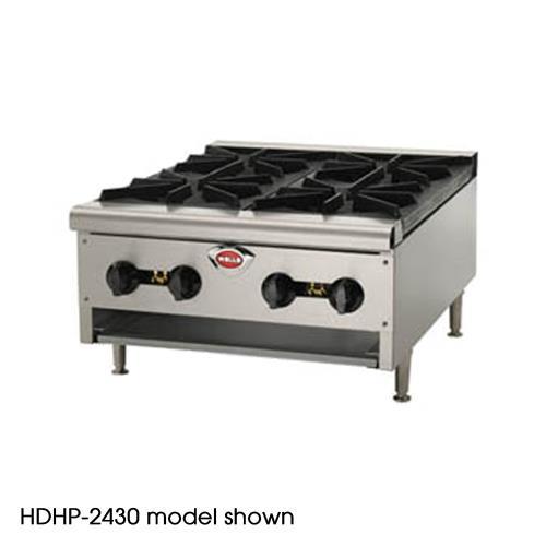 Heavy Duty Hot Plate w/ 2 Burners at Discount Sku HDHP-1230G WELHDHP1230G
