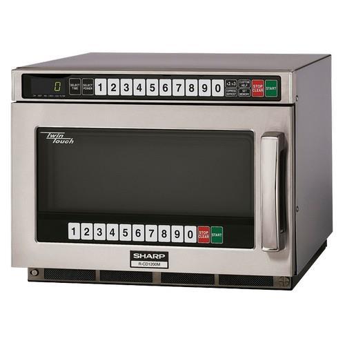 Sharp R Cd1200m Twintouch 1200 Watt Commercial