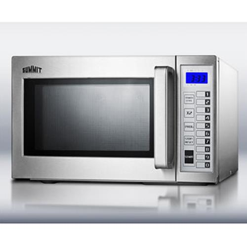Summit scm1000ss stainless steel microwave oven etundra - Stainless steel microwave interior ...