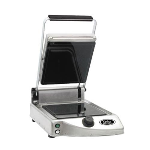 Single Panini Grill w/ Smooth Plates 120V/1,500W at Discount Sku CPG-10F CDOCPG10F