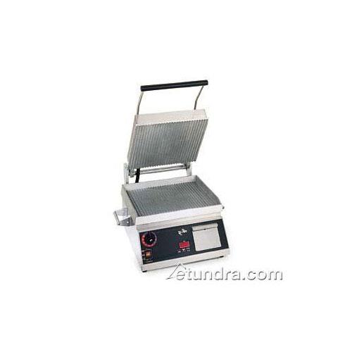 """Pro-Max 14"""" Grooved Sandwich Grill w/ Electronic Timer at Discount Sku CG14E STACG14E"""