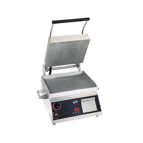 "Pro-Max 14"" Grooved Sandwich Grill at Discount Sku CG14IB STACG14IB"