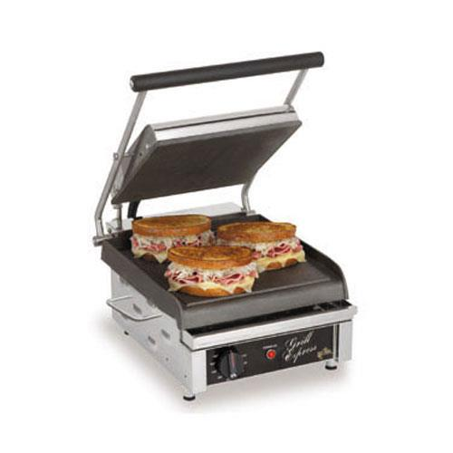"Grill Express 10"" Smooth Sandwich Grill"