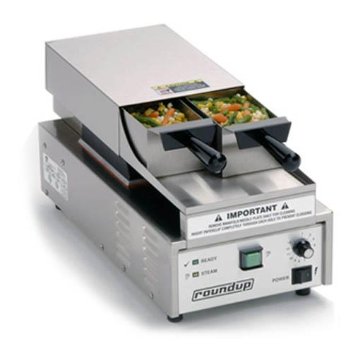 Commercial Countertop Steamer ~ Roundup vs adb double basket vegetable steamer