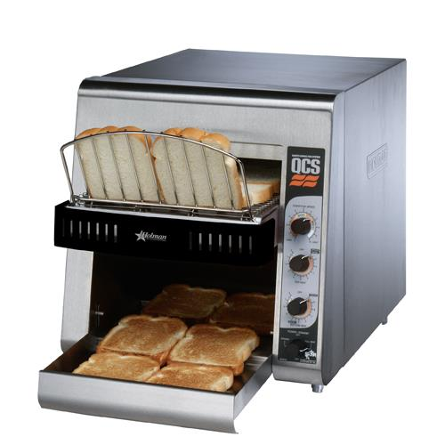 High Volume Toaster ~ Holman qcs conveyor toaster slices hr etundra