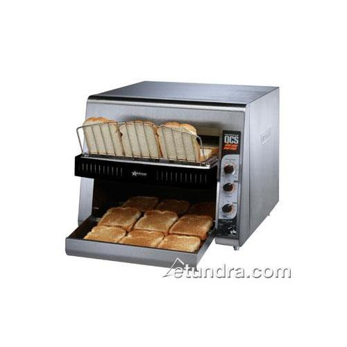 High Volume Toaster ~ Holman qcs high volume conveyor toaster slices