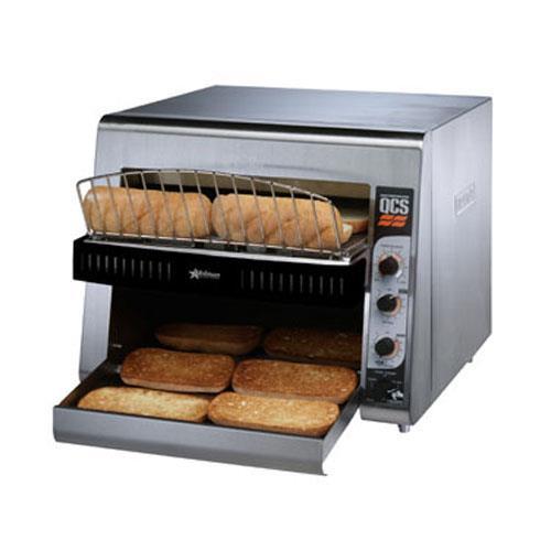 High Volume Toaster ~ Holman qcs h high volume conveyor toaster slices