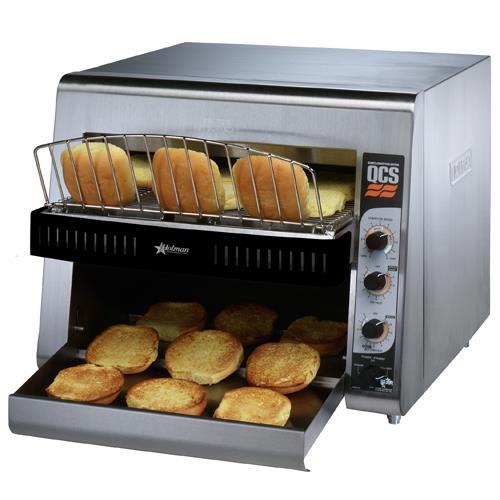 High Volume Toaster ~ Holman qcs bh high volume conveyor bun toaster