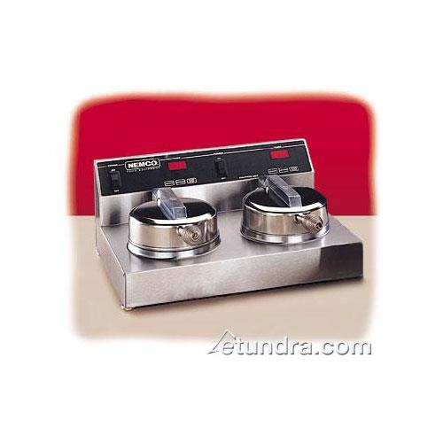 Dual Waffle Baker w/ SilverStone Plates at Discount Sku 7000-2S NEM70002S