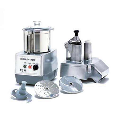 Commercial Food Processor w/ 7 Qt Bowl & Continuous Feed at Discount Sku R602 ROBR6N