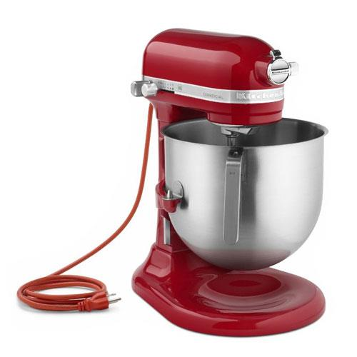 Food Mixers Kitchen ~ Kitchenaid commercial ksm er qt empire red nsf