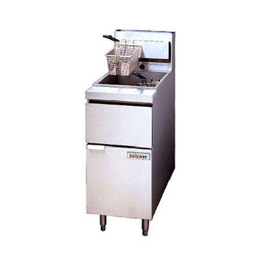 Anets - 14GS - GoldenFry™ 50 Lb Commercial Gas Fryer | eTundra