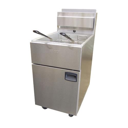 SilverLine 100 lb Commercial Gas Fryer