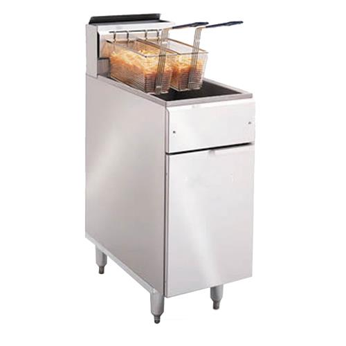 Imperial ifs 40 40 lb commercial gas fryer ebay for I kitchen equipment