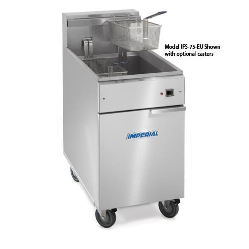 75 Lb Tilt-Up Electric Fryer