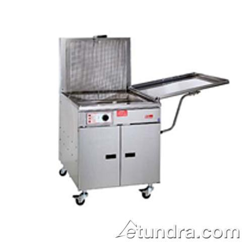 210 Lb Gas Chicken & Fish Fryer w/ Solid State Thermostat