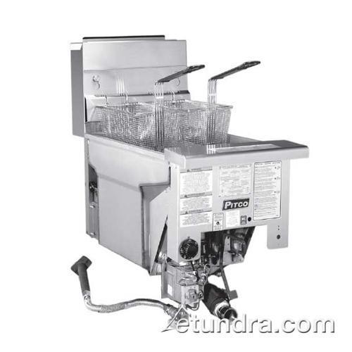 Solstice Standard Drop-In 90 Lb Gas Fryer at Discount Sku SG18DI PITSG18DI