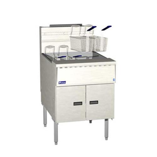 Megafry 150 Lb Gas Fryer w/ Digital Controller