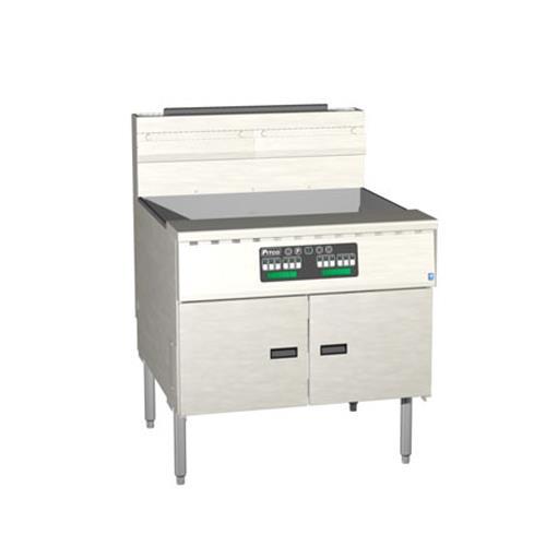 Megafry 210 Lb Gas Fryer w/ Computer Controller