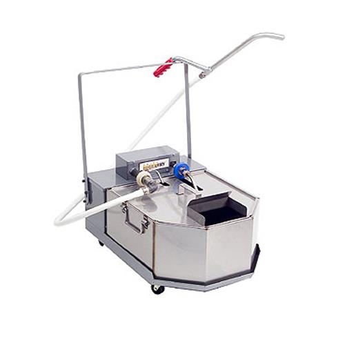 Low Profile Mobile Fryer Oil Filter