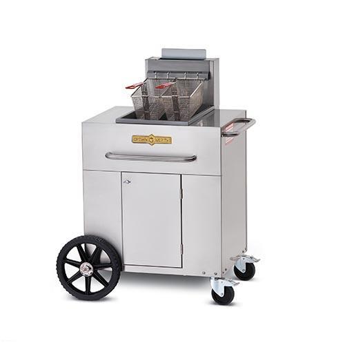 Portable Outdoor Fryer w/Single Tank