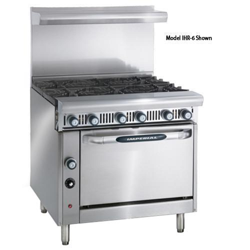 36 in 6-Burner Diamond Series Gas Range w/ Convection Oven
