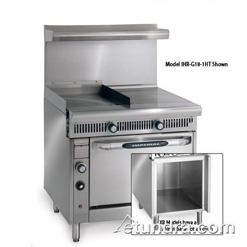 """Imperial - IHR-G18-1HT-XB - Diamond Series 18"""" Griddle w/ Hot Top & Cabinet at Sears.com"""