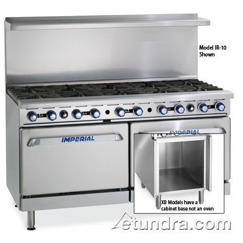 imperial ir 10 xb 60 range w 10 burners standard. Black Bedroom Furniture Sets. Home Design Ideas