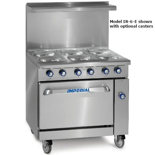 36 in 6-Element Electric Range w/ Standard Oven