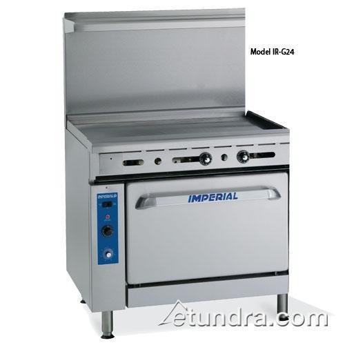 """36"""" Range w/ 36"""" Griddle & Standard Oven"""