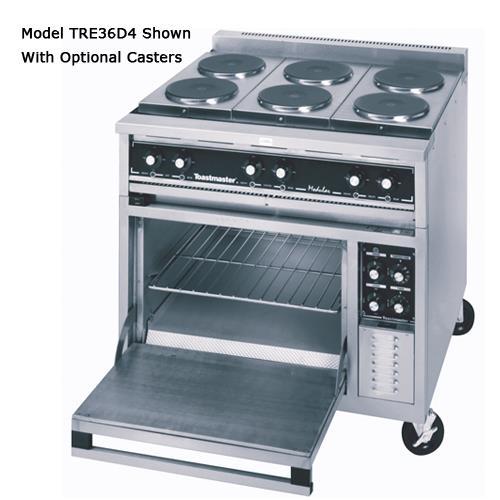 "36"" Range w/(2) Hot Tops, (2) Hotplates & Convection Oven at Discount Sku TRE36C2 TOATRE36C2"