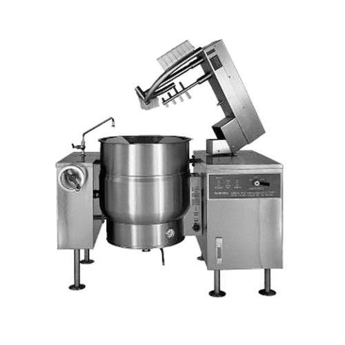 100 Gallon Direct Steam Mixer Steam Kettle