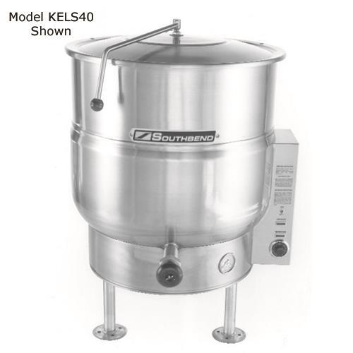 30 Gallon Electric Floor Steam Kettle