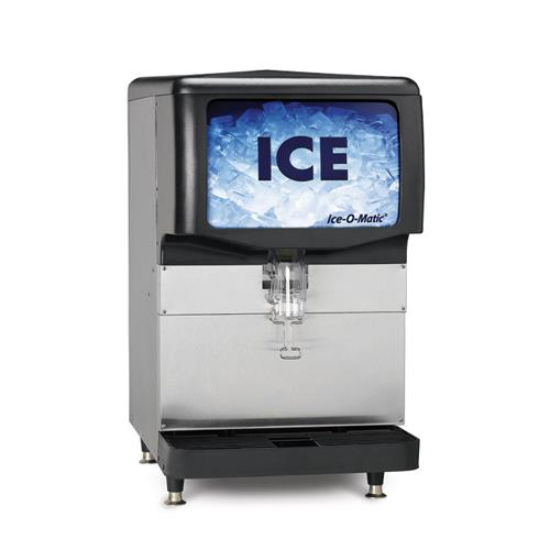 ice o matic iod150 150 lb countertop ice dispenser ice o matic ice ...