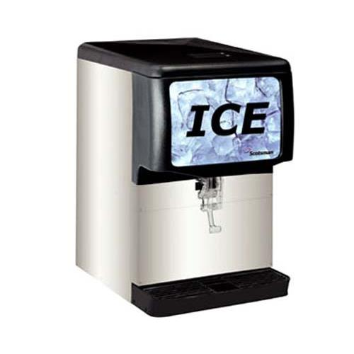 150 Lb Countertop Ice Dispenser at Discount Sku ID150B-1A SCOID150B1