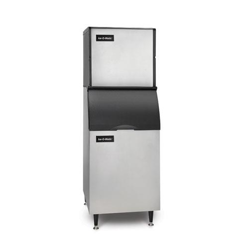 Ice Series Air Cooled 334 Lb Half Cube Ice Machine w/ 351 Lb Bin at Discount Sku ICE0320HAB42PS ICEICE0320HAB42PS