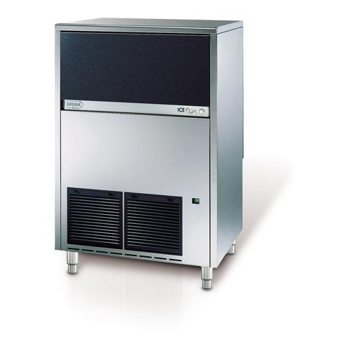 Brema Air Cooled 200 lb Ice Cube Machine w/Bin at Discount Sku CB955A EURCB955A