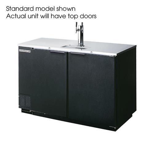 "50 1/2"" Club Top Draft Beer Dispenser at Discount Sku DD50C-1-B BEVDD50C1B"
