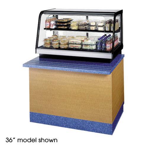 "48"" Countertop Refrigerated Self-Serve Rear Mount Merchandiser at Discount Sku CRR4828SS FEDCRR4828SS"